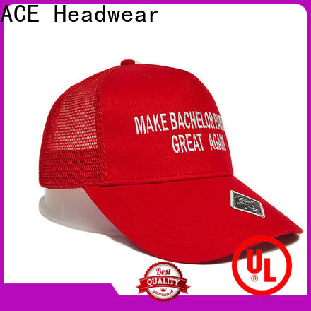 high-quality mens trucker caps words free sample for beauty