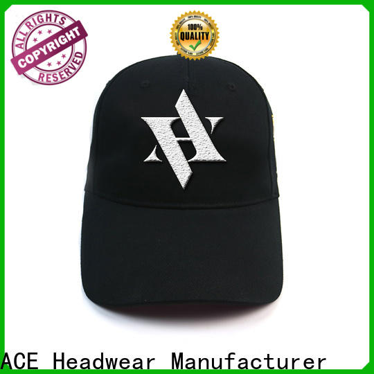 ACE patch baseball caps for men get quote for fashion