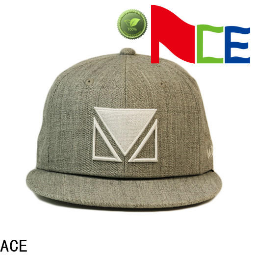 at discount snapback caps wholesale grey OEM for beauty