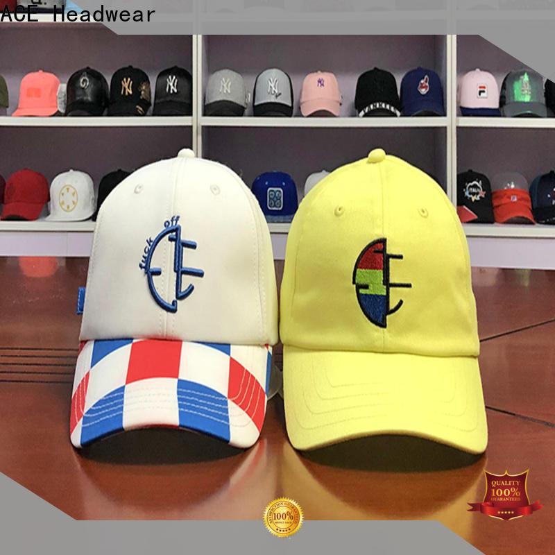 ACE latest baseball cap get quote for baseball fans