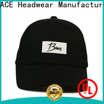 ACE funky red baseball cap buy now for fashion