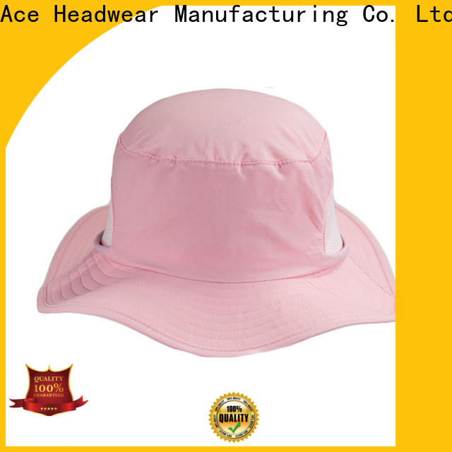 ACE sale bucket hat with string supplier for fashion