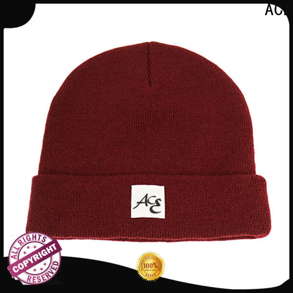 high-quality wholesale beanies purple OEM for fashion