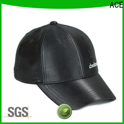 ACE high-quality white baseball cap bulk production for fashion