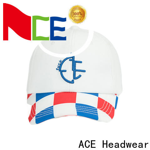 ACE panel baseball cap with embroidery get quote for baseball fans