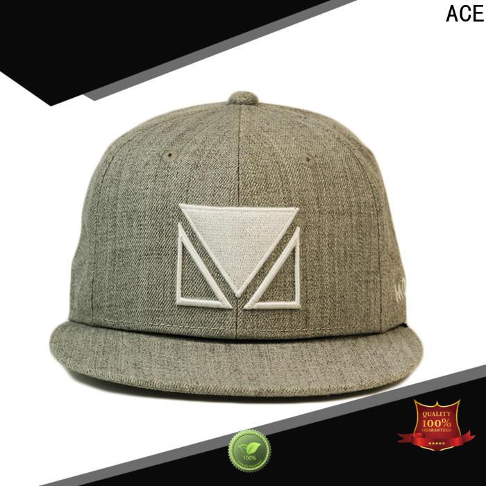 durable custom snapback hats pu ODM for fashion