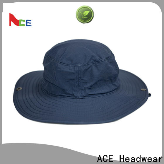 ACE string floral bucket hat free sample for fashion