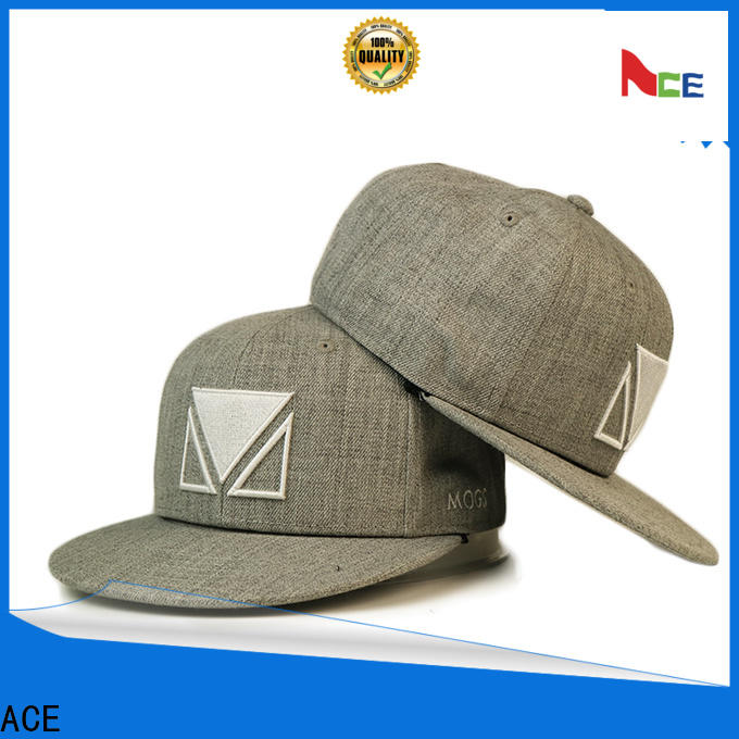 on-sale popular snapback caps blue supplier for fashion