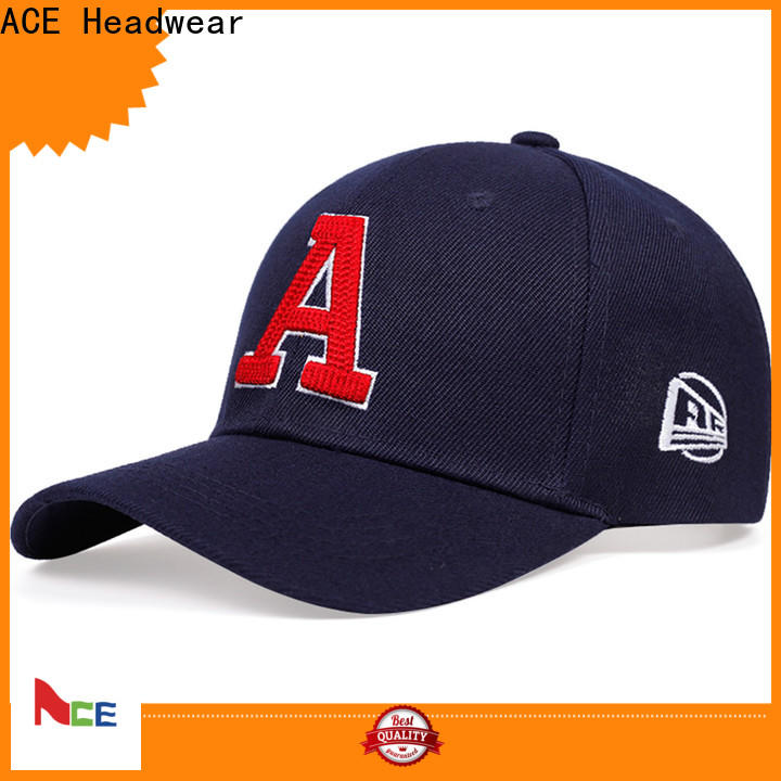 ACE at discount yellow baseball cap OEM for fashion