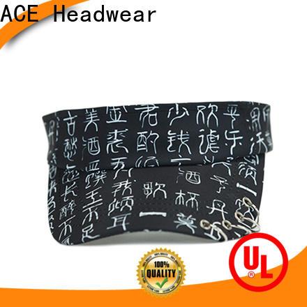 latest black sun visor hat rings supplier for fashion