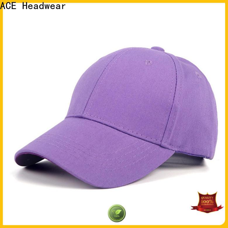 ACE sun wholesale baseball caps bulk production for adult