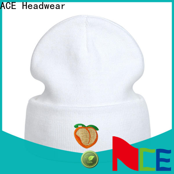ACE patch custom printed hats wholesale bulk production for man