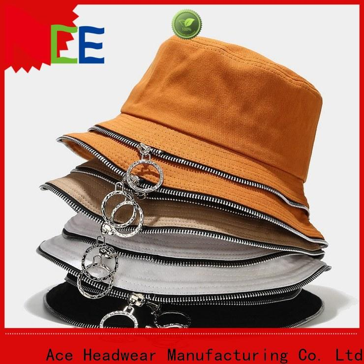 Breathable custom printed bucket hats style supplier for man