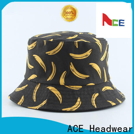 ACE string ucla bucket hats supplier for fashion