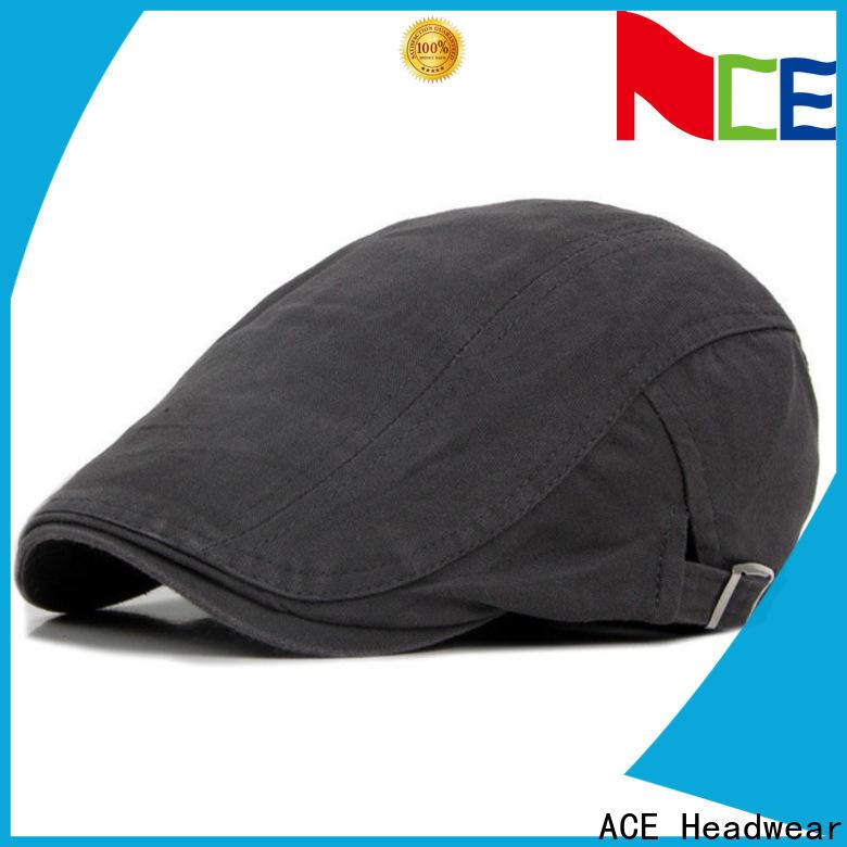 ACE maroon mens beret hat bulk production for man