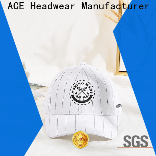 ACE patch create baseball cap company for beauty