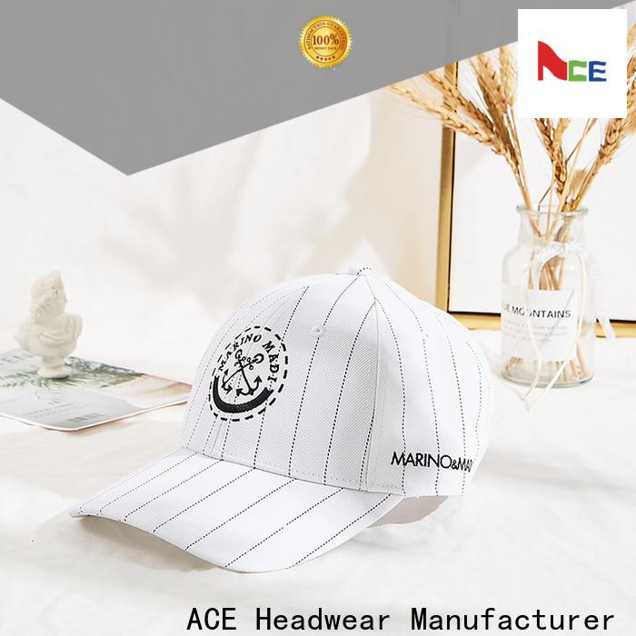 ACE 58cm expensive baseball hats manufacturer for adult
