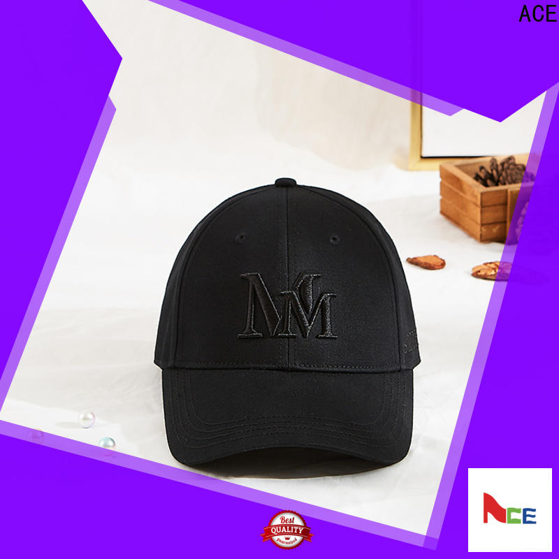 ACE portable custom fit baseball caps free sample for beauty