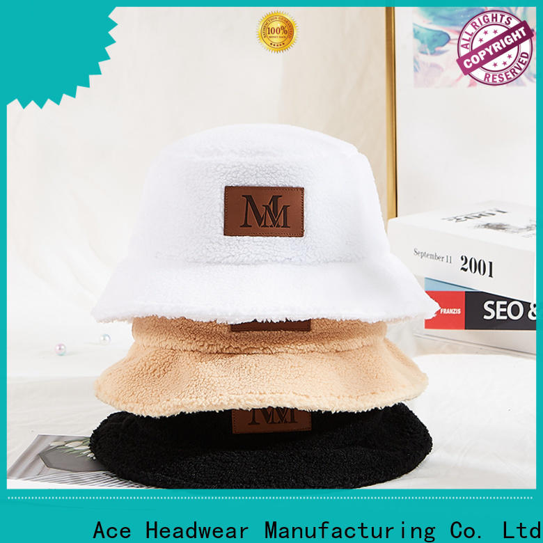 ACE funky cheap custom bucket hats for wholesale for man