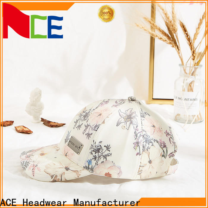 ACE at discount make your own baseball cap manufacturer for baseball fans