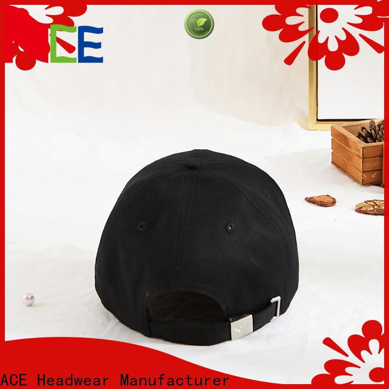 ACE fabric baseball custom hats bulk production for woman