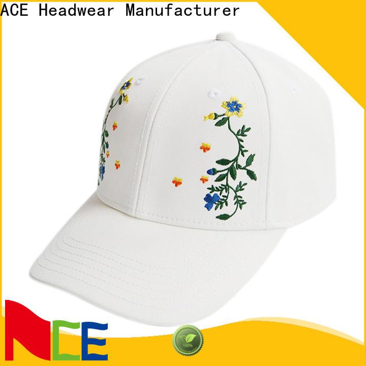 ACE custom baseball hat sizing free sample for baseball fans