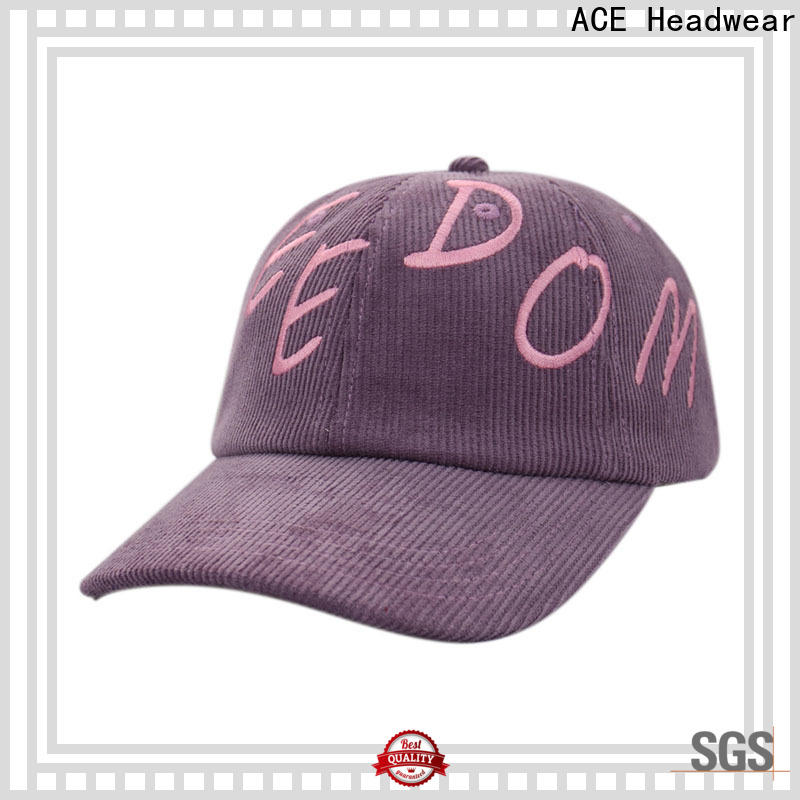 ACE flower baseball cap manufacturers usa get quote for baseball fans