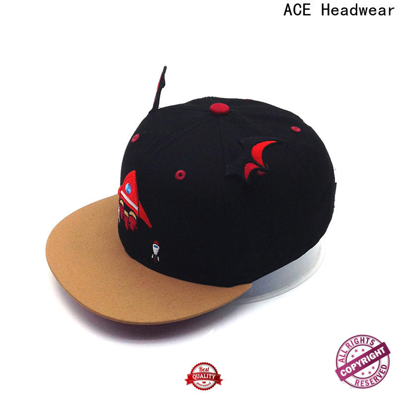 ACE at discount design snapback hats supplier for man