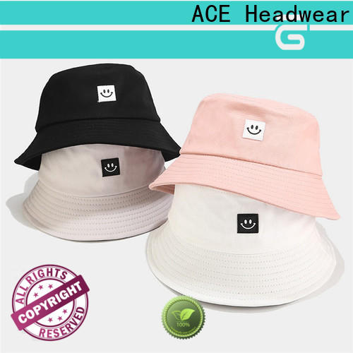 ODM design your own bucket hat women company for woman