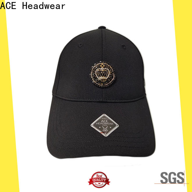 ACE ODM custom fitted cap supplier for kids