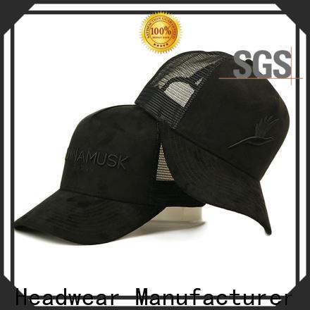 ACE funky trucker style golf hats bulk production for Trucker