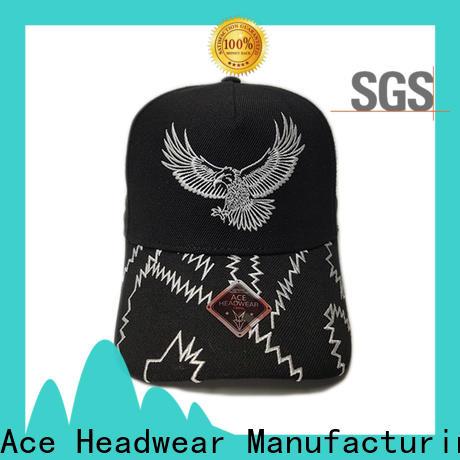 ACE latest custom made baseball caps buy now for beauty