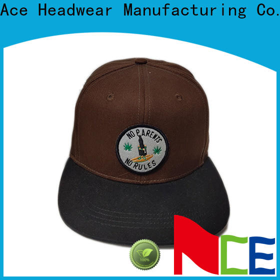 ACE plant custom 6 panel hats buy now for adult