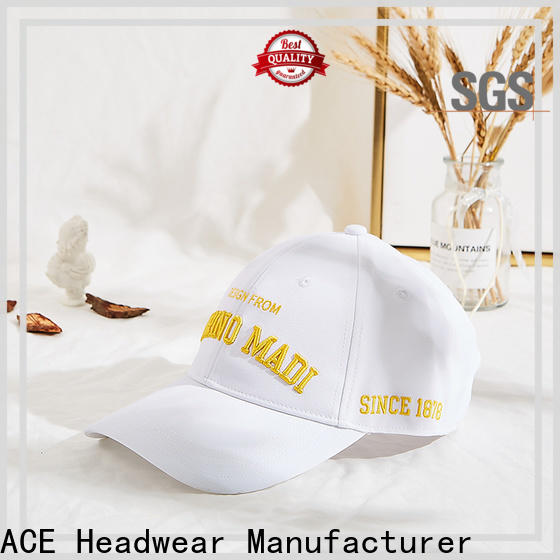 Breathable 5 panel baseball caps stylish for wholesale for man