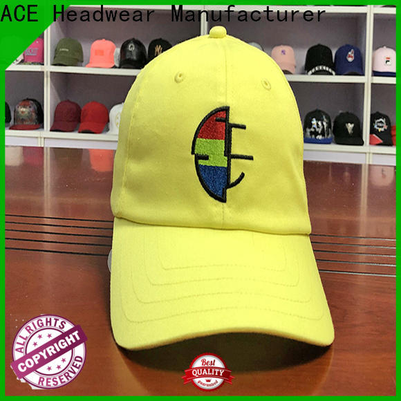 ACE hat 6 dad hat for wholesale for woman