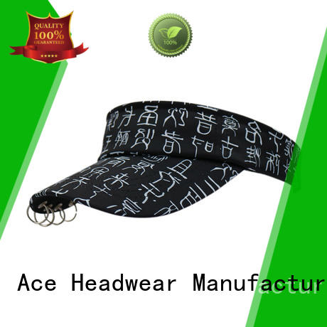 ACE rings sun visor cap get quote for fashion