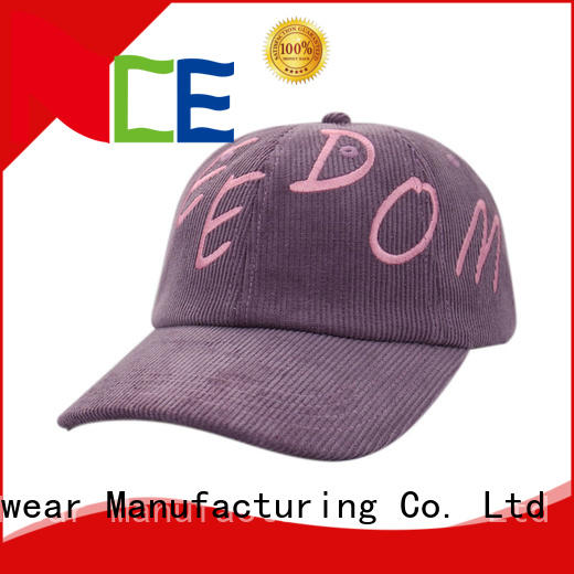 ACE Breathable personalized baseball caps satin for baseball fans