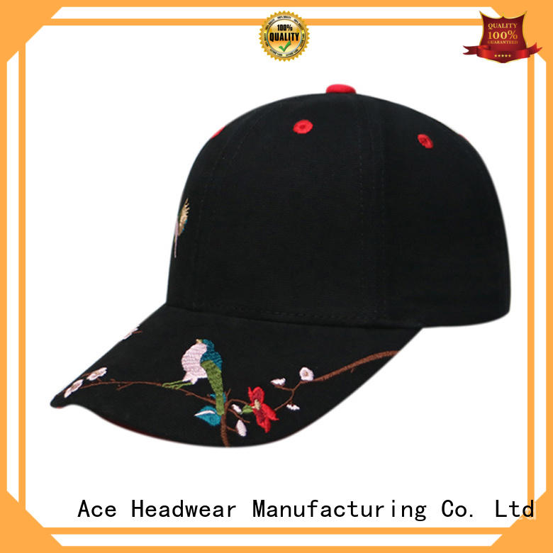ACE peak pink baseball cap for wholesale for fashion