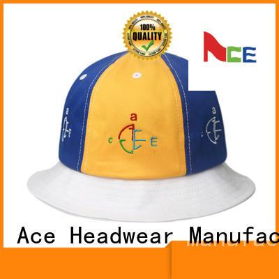 cotton bucket hat headwear for fashion ACE