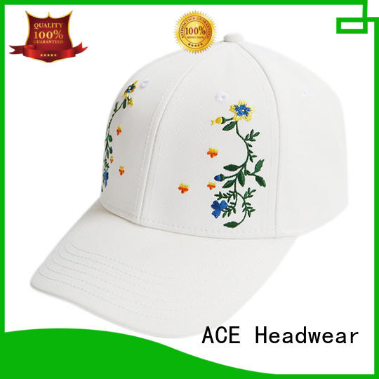 Breathable fashion baseball caps oem customization for beauty