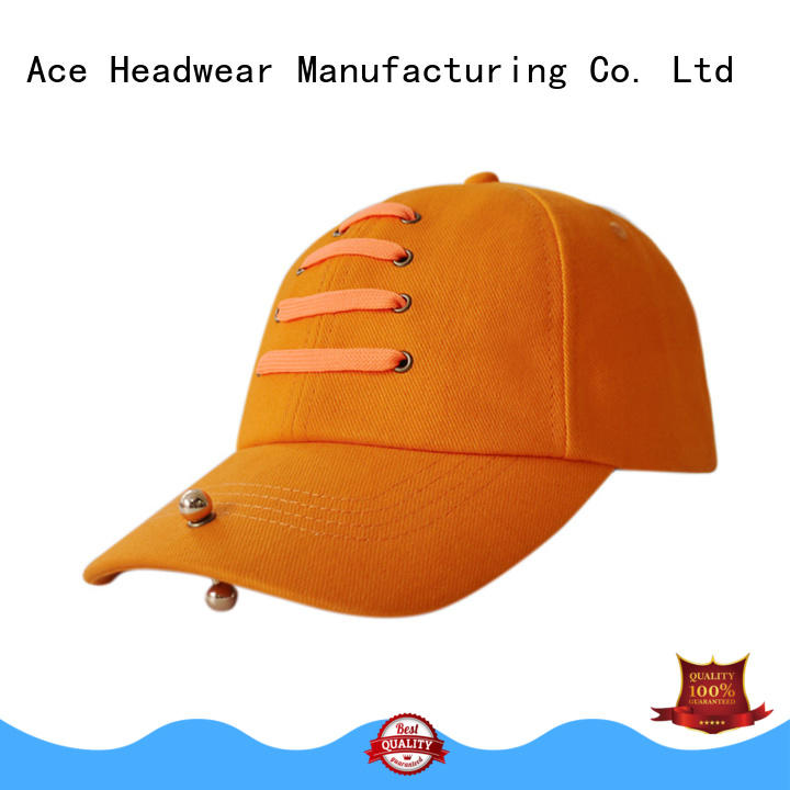 ACE embroidery kids baseball caps ODM for beauty