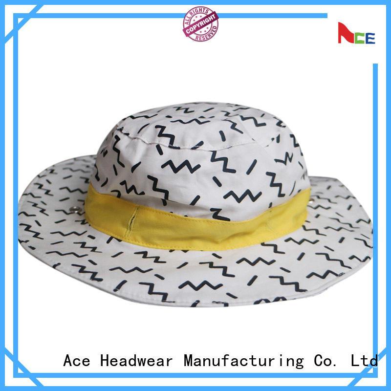 custom bucket hats 18sscap02 for beauty ACE