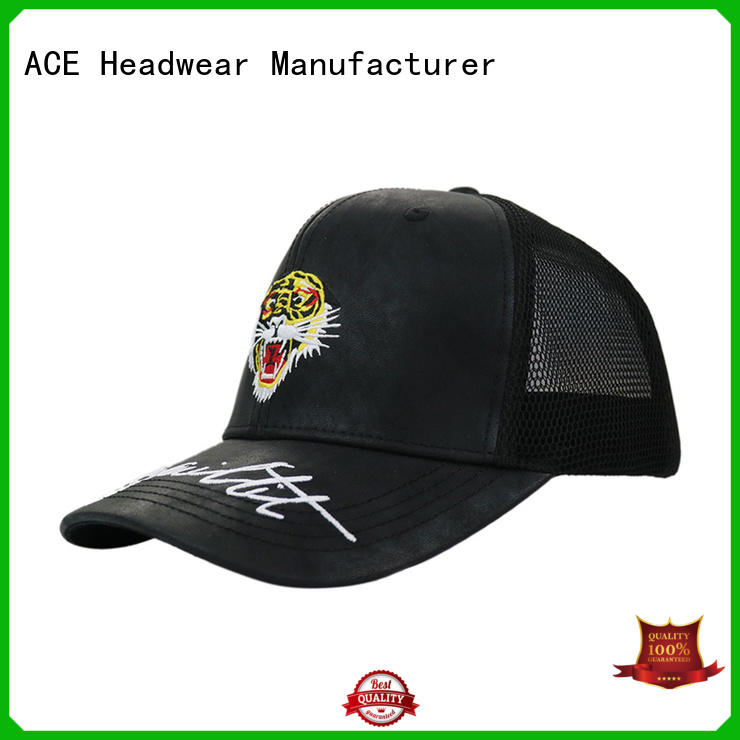 ACE curved classic trucker cap ODM for beauty