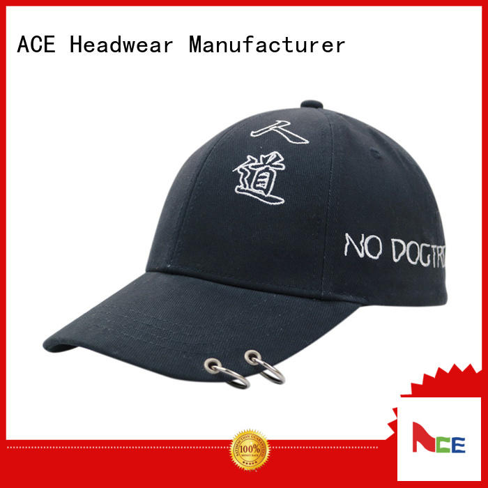 solid mesh types of baseball caps cap supplier for beauty