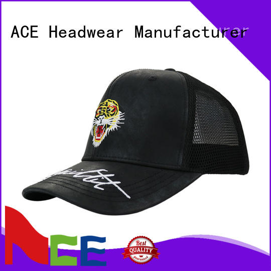 yellow yellow trucker cap curved for fashion ACE