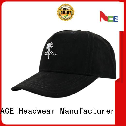 ACE adult plain baseball caps customization for fashion