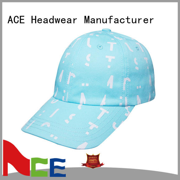 ACE high-quality dad hat style for wholesale for fashion