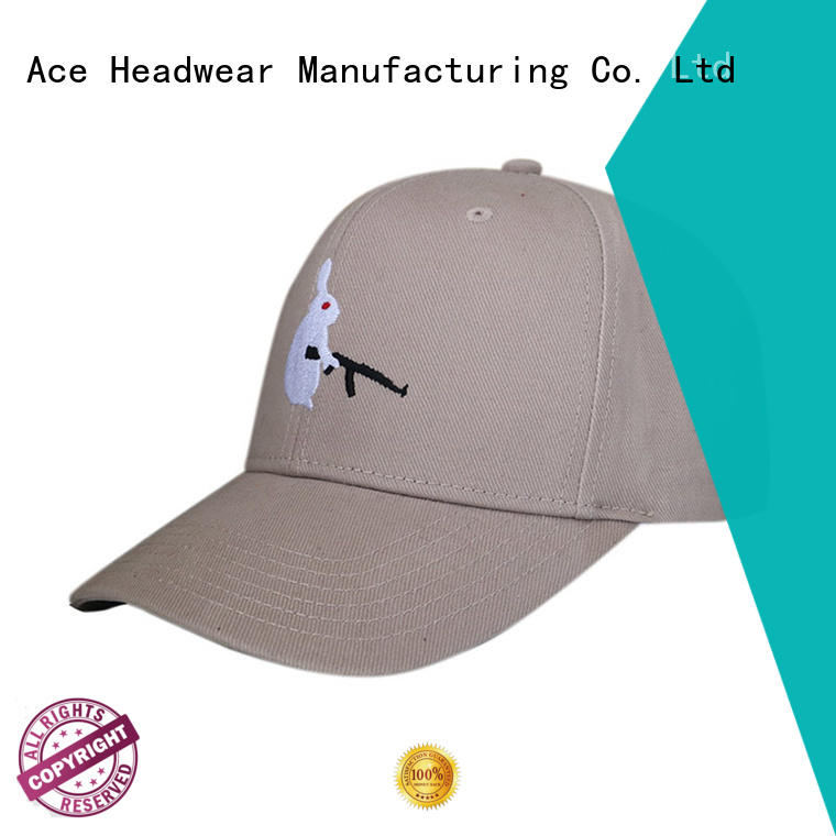 ACE unisex types of baseball caps get quote for fashion
