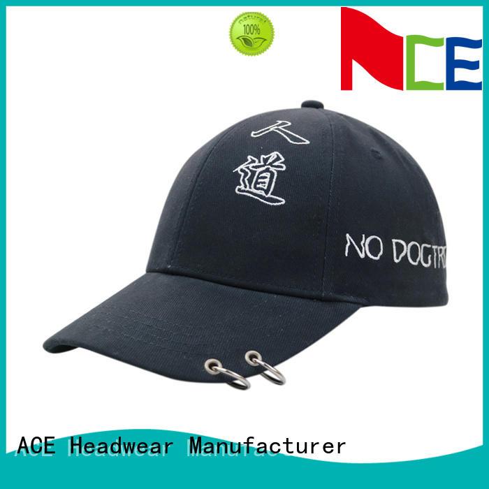 portable large baseball caps OEM for fashion ACE