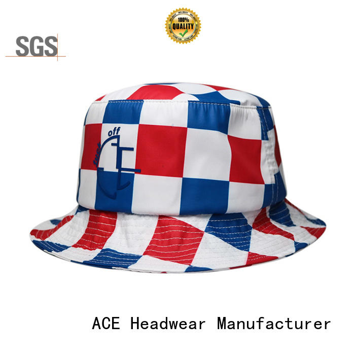 portable cool bucket hats cotton supplier for fashion